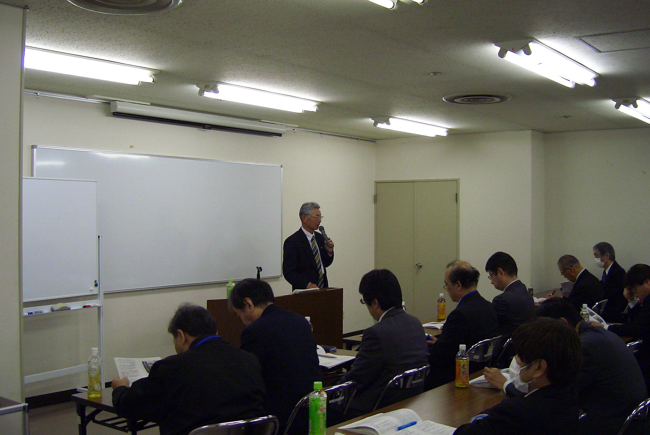 第112回「安全衛生管理者会議」が開催されました。