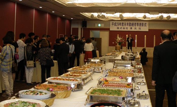 平成29年度「永年勤続表彰式」が開催されました