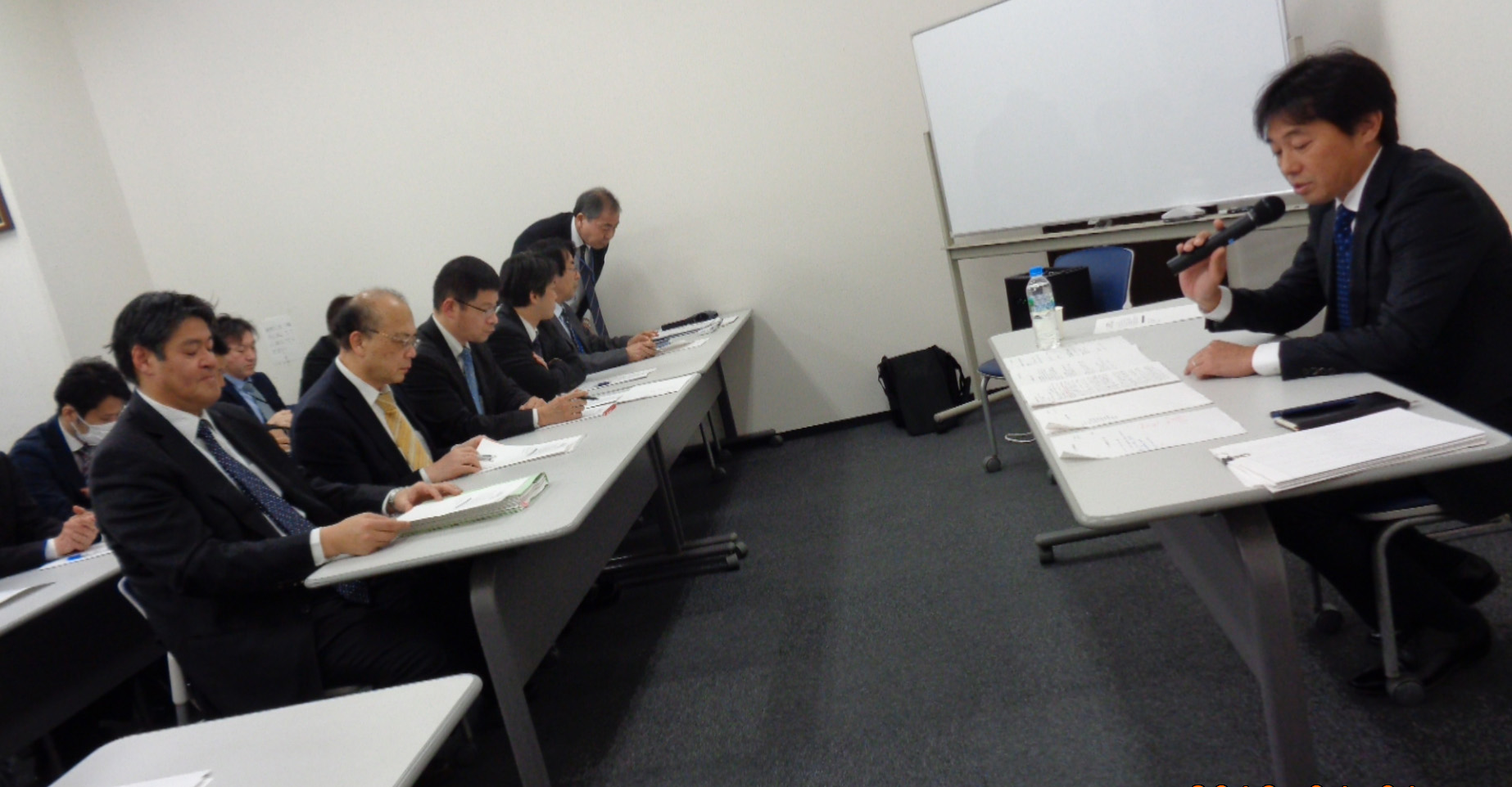合同責任者会議が開催されました